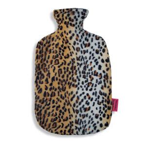 Waermflasche- Leopard
