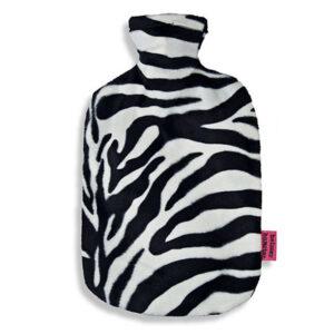 Waermflasche- Zebra