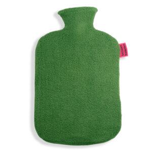 Fleece Wärmflaschenbezug grün
