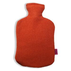 Schurwolle-Bezug-orange