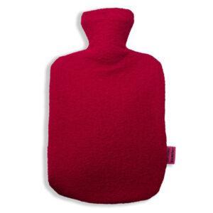 Schurwolle-Bezug-rot
