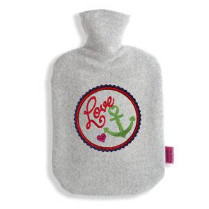 Wärmflasche-Anker-Love-Herz
