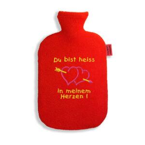 lustige Wärmflasche-Du bist heiss