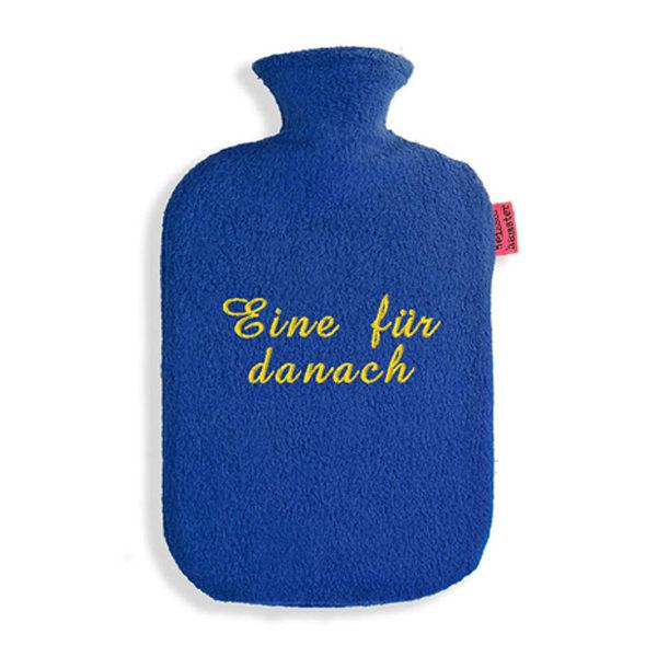 lustige Wärmflasche-Eine für danach