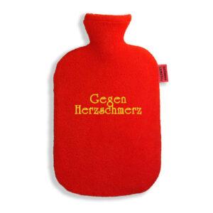 lustige Wärmflasche-Gegen Herzschmerz